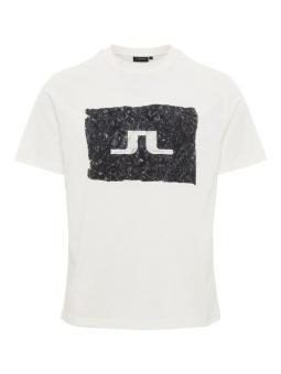 J.Lindeberg Jordan Distinct Cotton White/Black