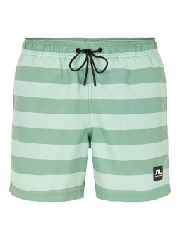 J.Lindeberg Banks Stripe Swim Dusk Green