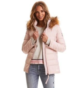Odd Molly Winterland Jacket Pink Earth