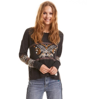 Odd Molly Arctic Wings Sweater Multi