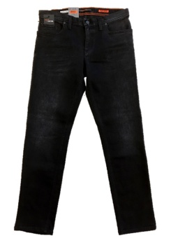 Alberto Pipe Dual FX Denim Off Black