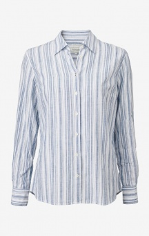 Boomerang Aina Striped Shirt Electric Blue