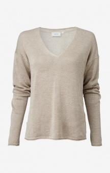 Boomerang Lilja linen Sweater Dark Putty