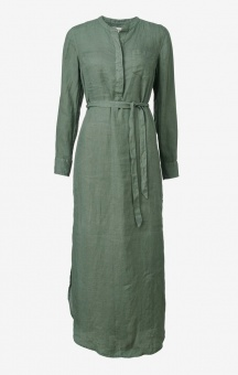 Boomerang Båstad Linen Dress Venetian Green