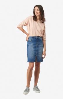Boomerang Signe Denim Skirt Vintage Indigo