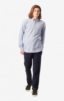 Boomerang Chalie Striped Shirt Electric Blue