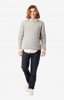 Boomerang Axel Linen Sweater Dark Putty