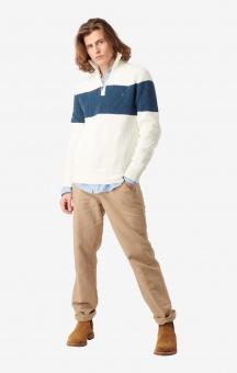 Boomerang Sixten Half Zip Sweater Offwhite