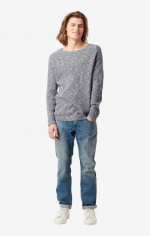 Boomerang Henry O-Neck Sweater Midnight Blue