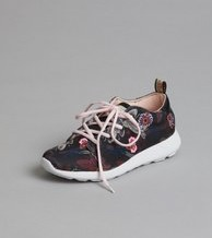 Odd Molly Sole Mate Trainer Almost Black