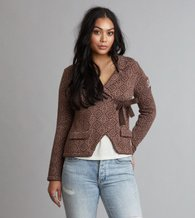 Odd Molly Lovely Knit Jacket Nutmeg