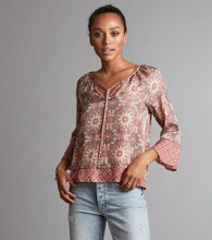 Odd Molly Honey-Coated l/s blouse Light Mahogny