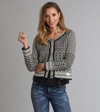 Odd Molly Sunny Side Cardigan Almost Black