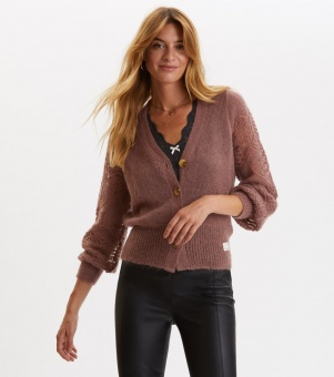 Odd Molly My New Aesthetic Cardigan Dark Blossom