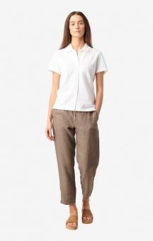 Boomerang Lisa Pique Shirt White