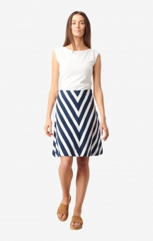 Boomerang Elina Pique Skirt Bright Nautic