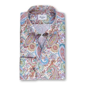 Stenströms Paisley Patterned Slimline Shirt