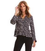 Odd Molly Cosmic Moments Blouse Almost Black