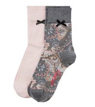 Odd MOlly Socky Sock Blush Paisley