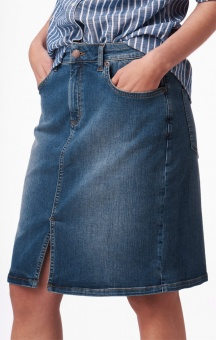 Boomerang Signe Denim Skirt Vinage Indigo