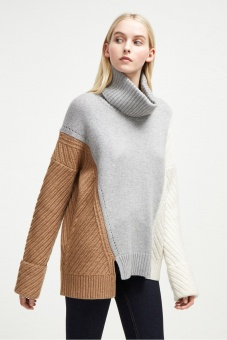 French Connection Viola Knits Hihg Neck Jumper 78KBA