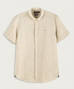 Morris Douglas SS Linen Shirt Khahi
