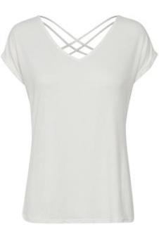 Cream Adriana T-shirt Chalk