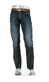 Alberto Pipe Authentic Denim dark blue