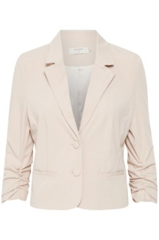 Cream Esther 3/4 sleeve Blazer