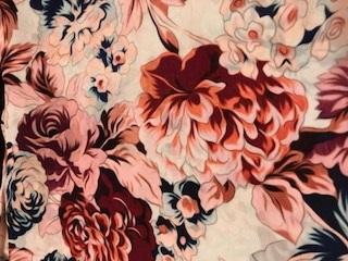 Stenströms Sjal Flower 90*90