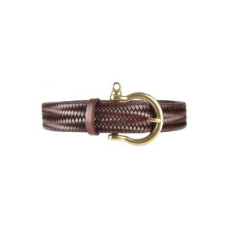 Athison Stretch Belt Cognac XL