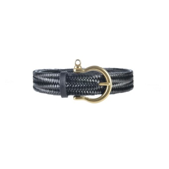 Athison Stretch Belt Black XS