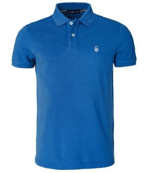 Sail Racing Bowman Polo Bright Blue