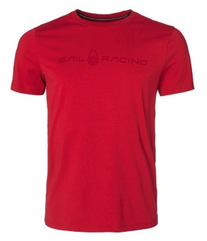 Sail Racing Bowman tee Bright red