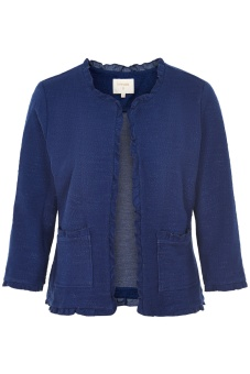 Cream Nellie cardigan Midnight Blue