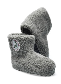 Hansen&Jacob Wuggs Wool Slippers Grey