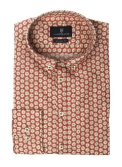 Hansen&Jacob Shirt May Print Red