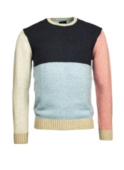 Hansen&Jacob Annex Crew Neck Multicolour