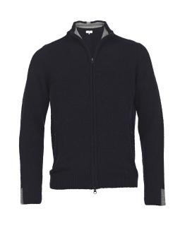 Hansen&Jacob Mousse Zip Navy