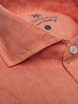 Hansen&Jacob Tom S. Solid Linen Shirt