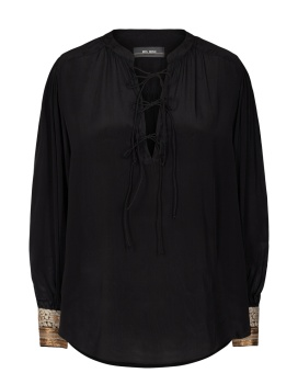 MosMosh Minta Blouse Black