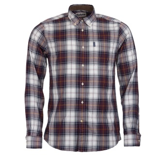 Barbour Highland Check 20 Tailored - Brown