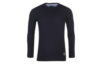 Pelle P Raw Sweater Dk Navy Blue