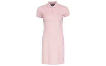 Pelle P Team Polo Dress Ice Pink