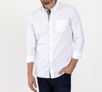 Sebago ankarskjorta white