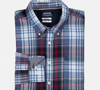 Sebago Brushed Tartan Shirt