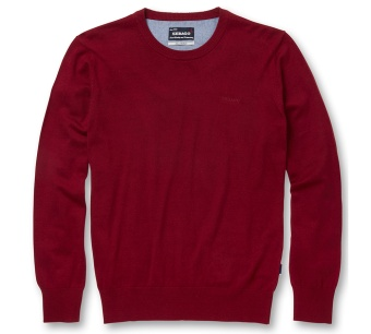 Sebago Vesper Crew Neck Dark Red Melange