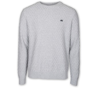 Sebago Diamond Cable Crew Neck