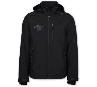 Sebago Peter Softshell Jacket Black
