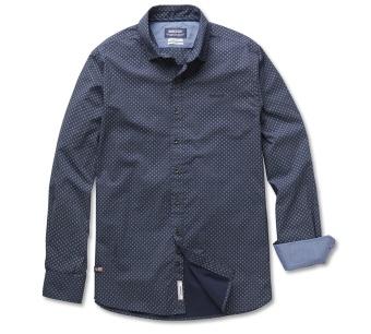 Sebago Cartland Print shirt navy